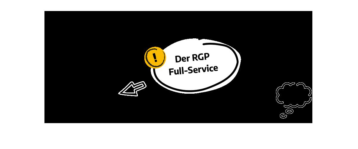 Grafik zum Full Service, alles aus einer Hand
