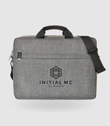 laptoptasche praktisch zum umhängen und tragen individuell bedruckbar werbemittel rgp team berlin