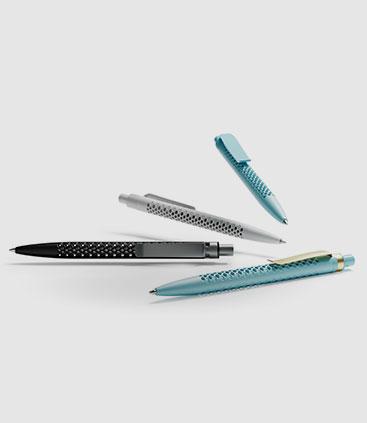 elegante Kugelschreiber mit Wabenstruktur