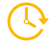 Grafik einer Uhr