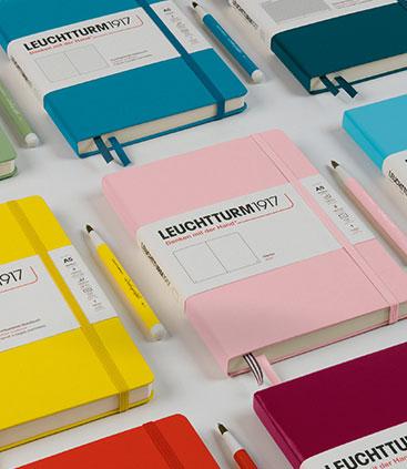 leuchtturm notizbuch in verschiedenen farben, das perfekte webemittel jetzt bei rgp team berlin