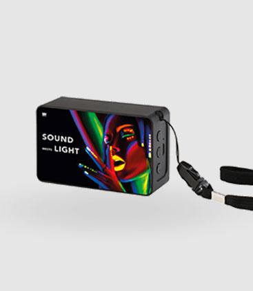 bedruckter Bluetooth Lautsprecher