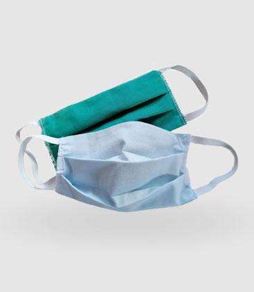 Mund und Nasenschutz aus Stoff